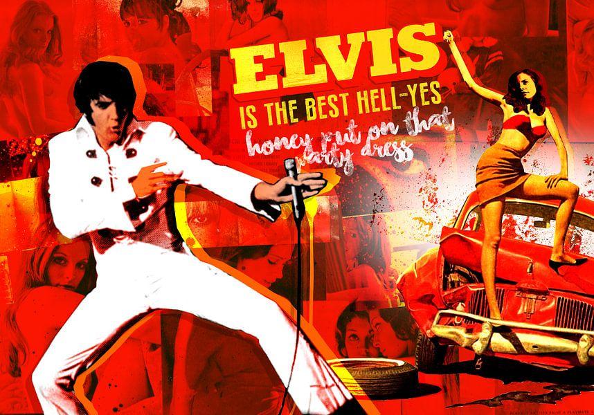 Elvis is the best hell-yes van Feike Kloostra