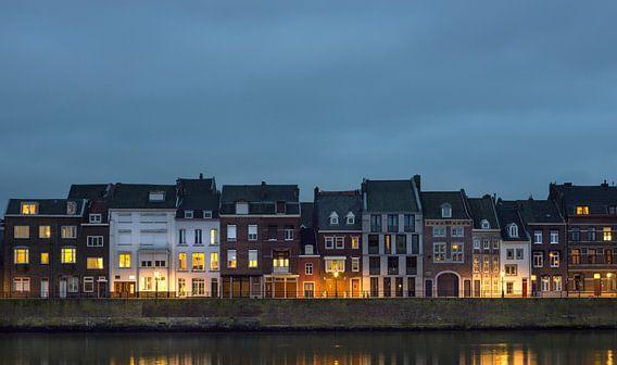 Schemer in Maastricht (Wijck) van Maurits van Hout