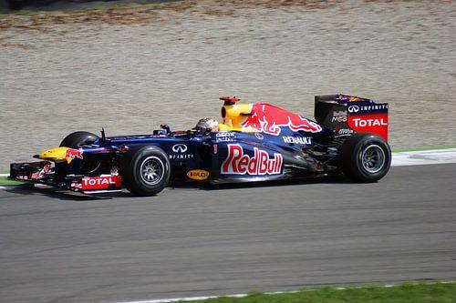 Sebastian Vettel Monza van