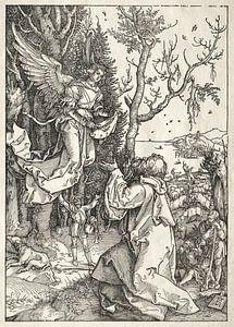 Das Marienleben: Joachim und der Engel, Albrecht Dürer