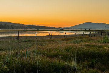 Sonnenuntergang Vancouver Island von Marco Schep