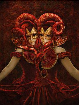 Der rote Zwilling von Babette van den Berg