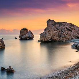 Rock of Afrodite, Zypern von Adelheid Smitt