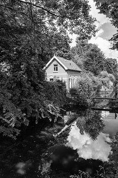 Oud Sluiswachtershuisje bij Oog in Al van