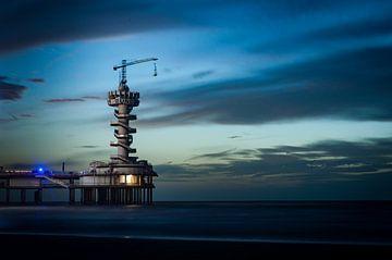 Architectuur - Pier van Scheveningen von MICHEL WETTSTEIN