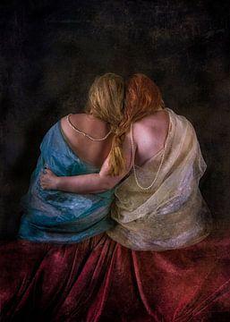 Zwei Frauen von Guna Andersone