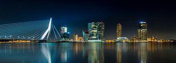 Skyline Rotterdam Panorama van Joram Janssen