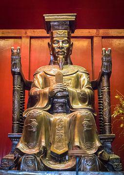 Beeld van Confucius, Vietnam van Rietje Bulthuis