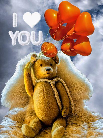 Oude Teddy - Ik hou van je