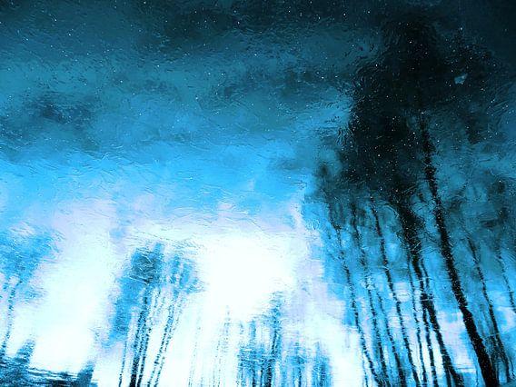 Winter Blue(s) 1>3 van  MoArt (Maurice Heuts)