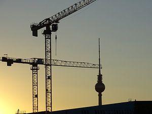 Silhouette  in Berlijn van Nicole  Brouwer
