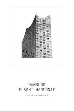 Elbphilharmonie Hamburg von Der HanseArt