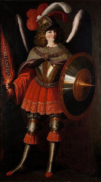 Der Erzengel Michael, Francisco de Zurbarán von Meesterlijcke Meesters