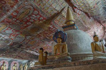 Cavetemple Dambulla Sri Lanka van Marilyn Bakker