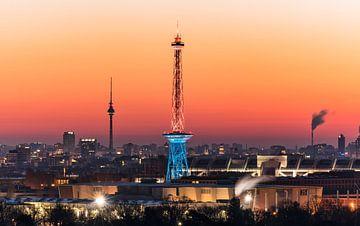 skyline Berlijn van Achim Thomae