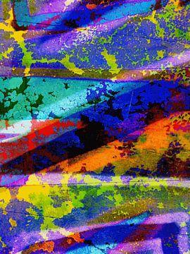 Modernes, abstraktes Digital Artwork - Der Ort, der Ihre Tränen füllt (Teil 2) von Art By Dominic