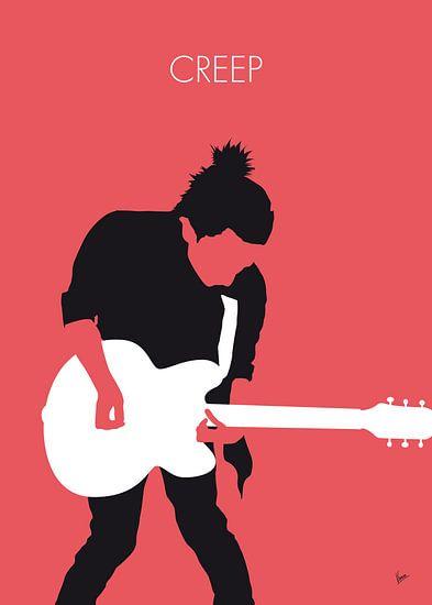 No062 MY RADIOHEAD Minimal Music poster van Chungkong Art