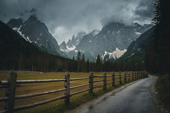 Dark mood in the Dolomites