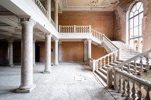 Große Verlassene Treppe.