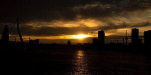 Silhouette Sunset van