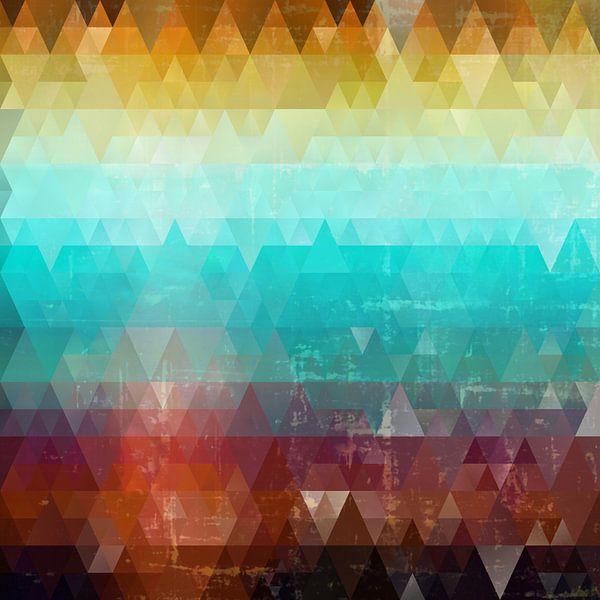 Composition abstraite 604 van Angel Estevez