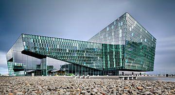 Harpa Concert Hall, Reykjavik van David Bleeker