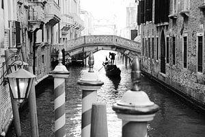 Venetië - Gondelier van Maurice Weststrate