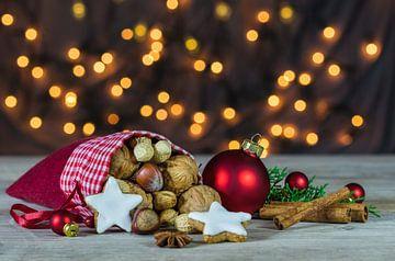 Kerstmis vakantie licht achtergrond van Alex Winter