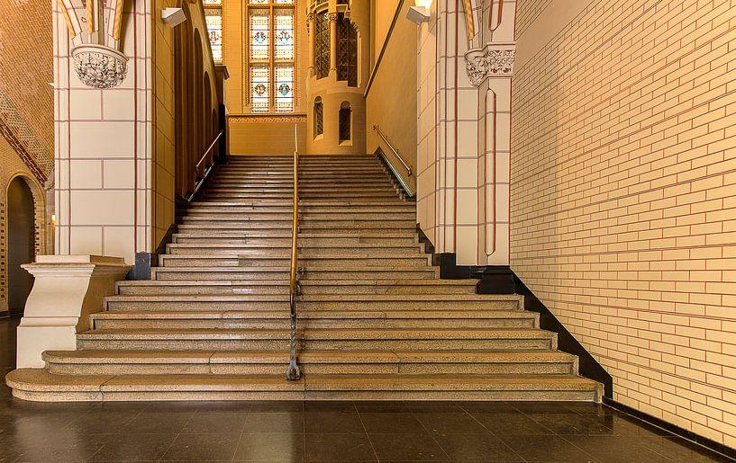 trap in rijksmuseum van Corrie Ruijer