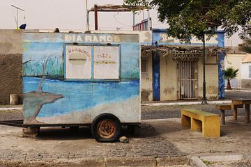 Foodtruck Kaapverdië van Inge Hogenbijl