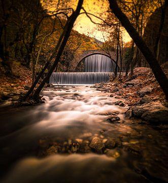 herfst valt van Konstantinos Lagos