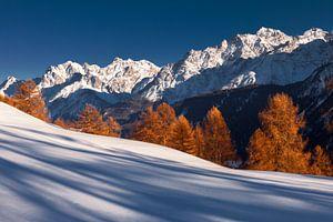 Alpen Zwitserland winter van