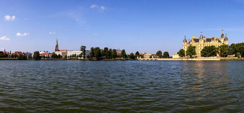 Panorama de Schwerin sur Frank Herrmann