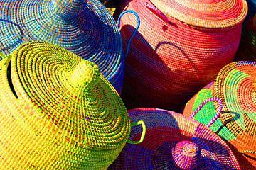 Gekleurde Afrikaanse manden