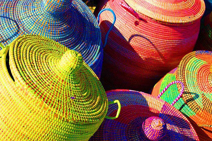 Gekleurde Afrikaanse manden van Brian Morgan