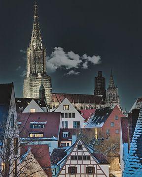 Ulmer Münster bei Nacht von Eric Götze Fotografie