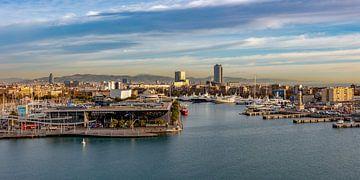 Port Vell à Barcelone sur Jürgen Wiesler