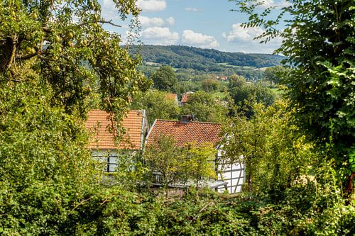Vakwerkhuisje in Zuid-Limburg van John Kreukniet