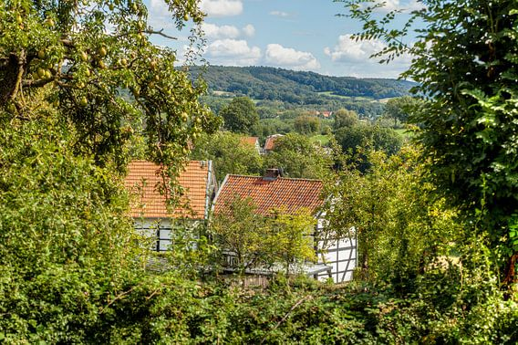 Vakwerkhuisje in Zuid-Limburg