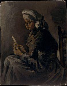 Aardappelschiller, Vincent van Gogh