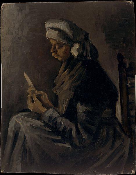Der Kartoffelschäler - Vincent van Gogh von Schilders Gilde