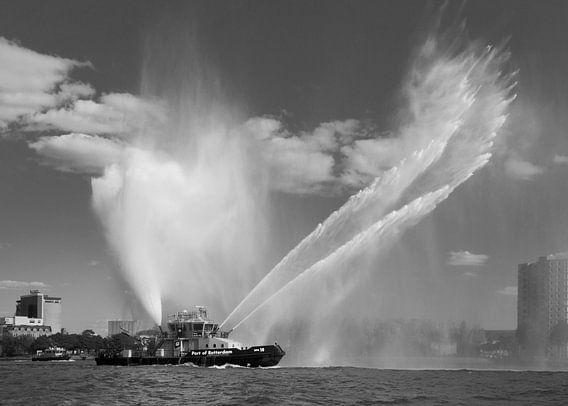Spuitboot van Port of Rotterdam