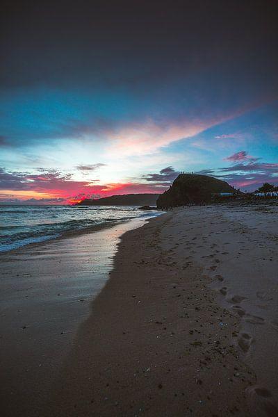Lombok zonsondergang