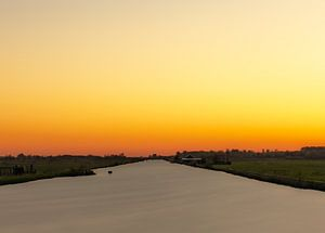 Oranger Morgen von Ulbe Spaans