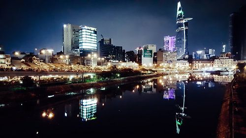 Skyscrapers in Ho Chi Minh city von