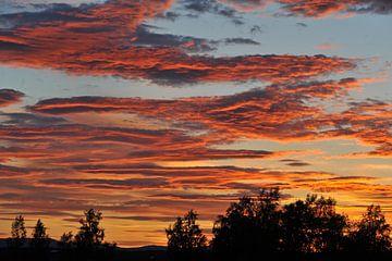 Sunset 5 van Marieke EWA
