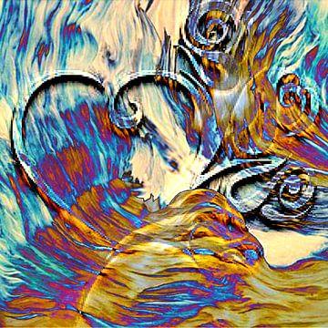 Burning desire van Cisca Brakel