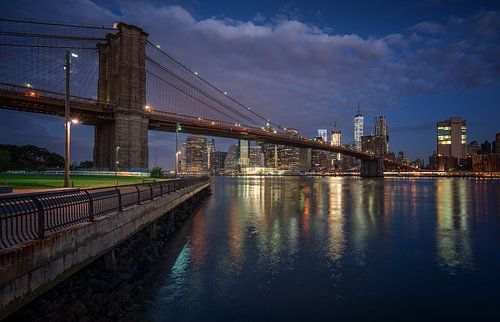 The bridge to Brooklyn