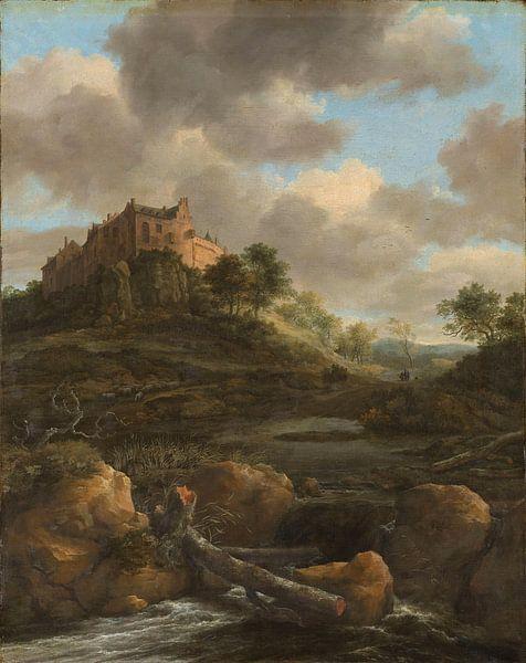 Schloss Bentheim, Jacob Isaacksz. van Ruisdael von Meesterlijcke Meesters