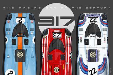 917 Raceauto van de eeuw van Theodor Decker